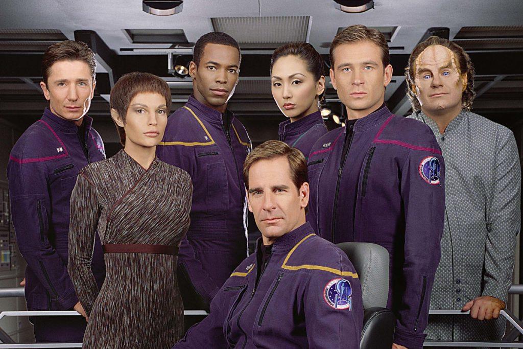 seriál Star Trek Enterprise series