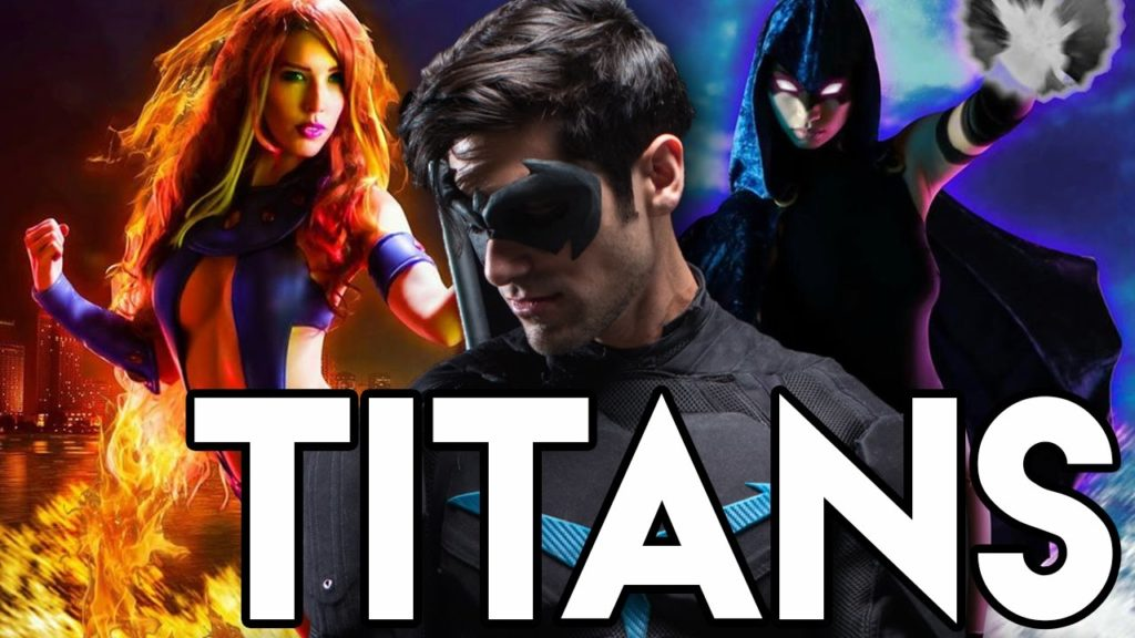 seriál Titans series