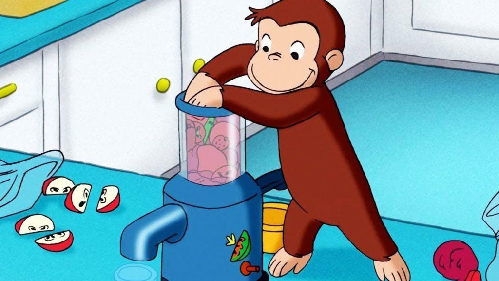 seriál Zvědavý George_Curious George series