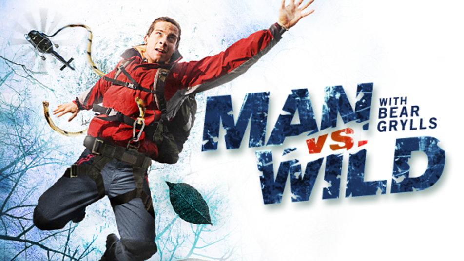 seriál Bear Grylls Boj o přežití_man vs wild series