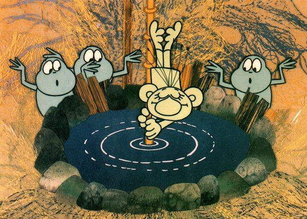 seriál Rákosníček a jeho rybník