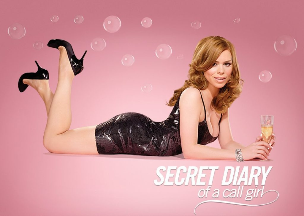 seriál Tajný deník call girl Secret Diary of a Call Girl series