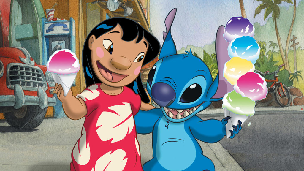 seriál Lilo a Stitch series