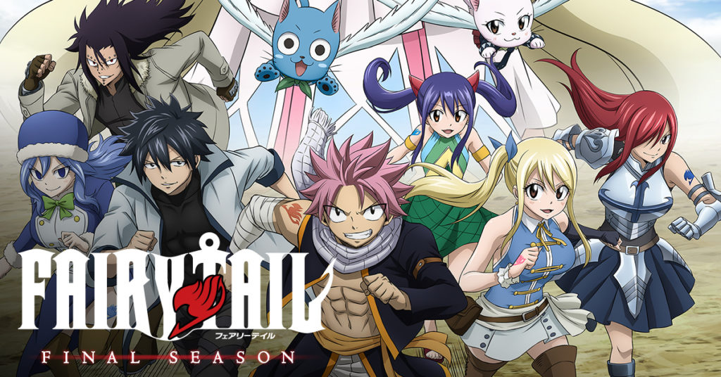 seriál Fairy Tail series