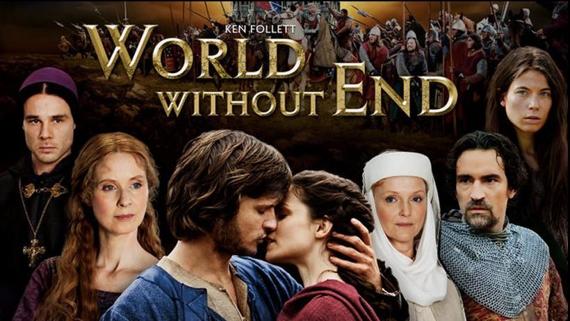 seriál Na věky věků World without end series