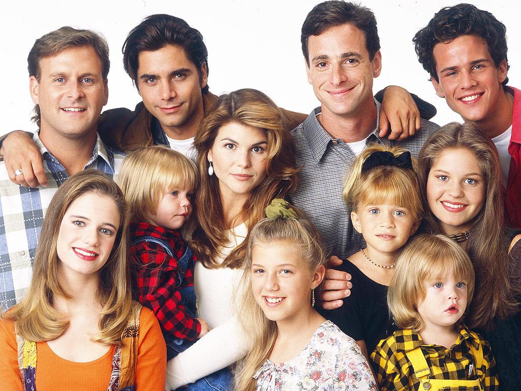 seriál Plný dům Full House series