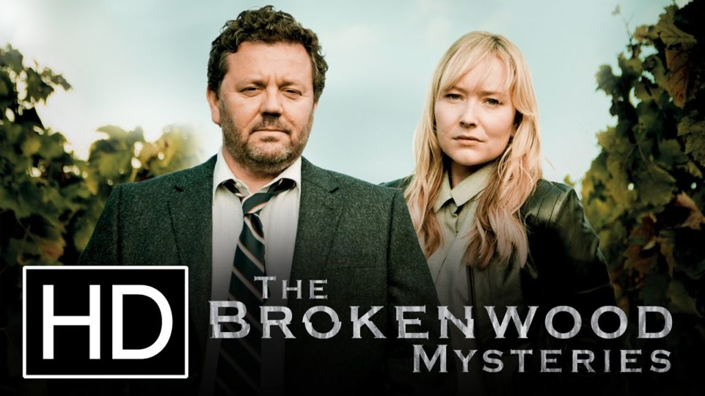seriál Vraždy v Brokenwoodu The Brokenwood mysteries series