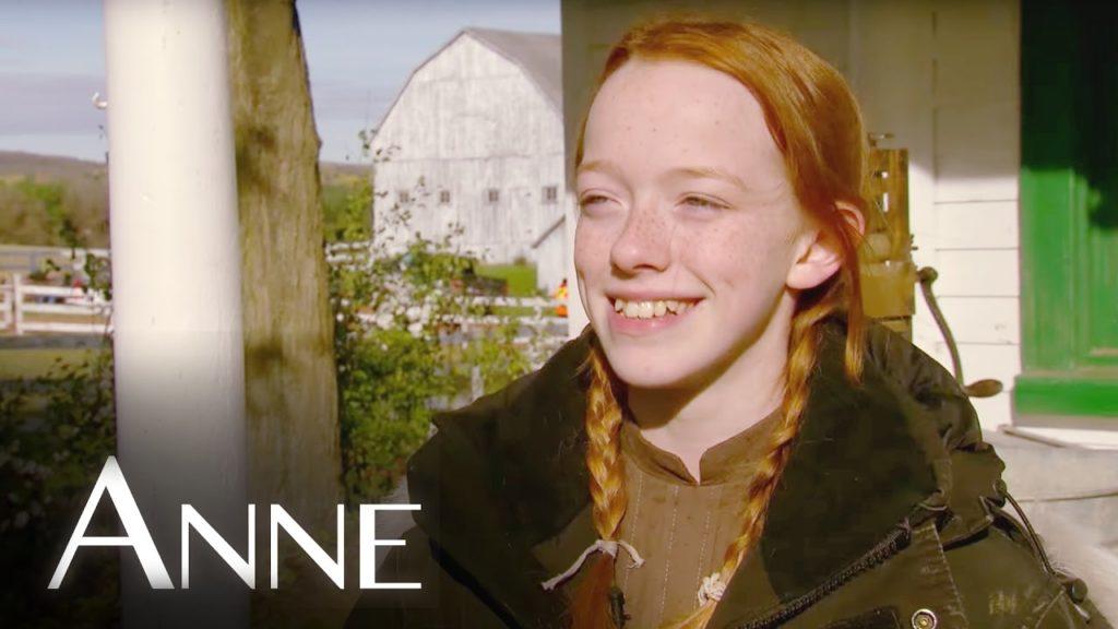 seriál Anne series