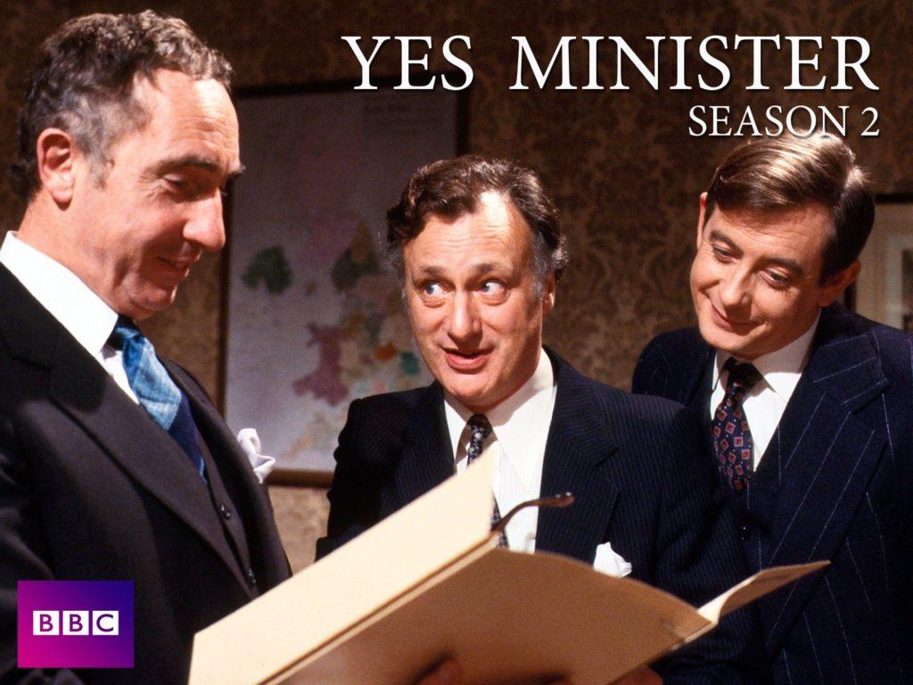seriál Jistě, pane ministře_Yes minister series