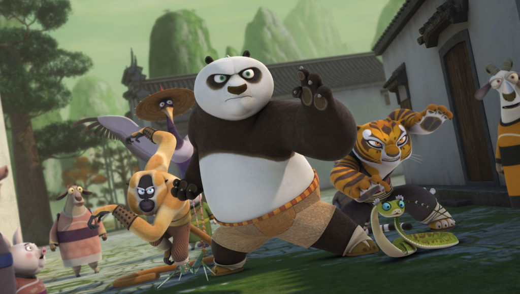 seriál Kung Fu Panda Legendy o mazáctví_Kung Fu Panda Legends of Awesomeness series