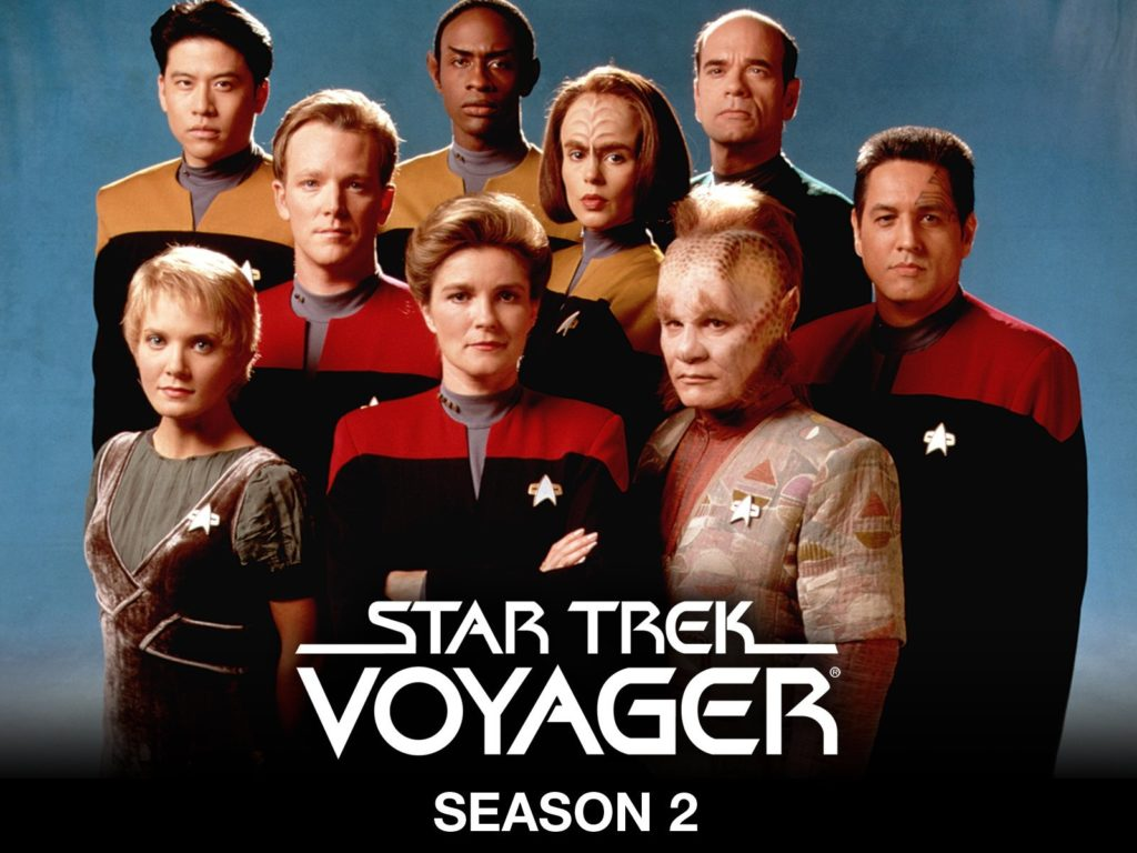 seriál Star Trek Voyager series