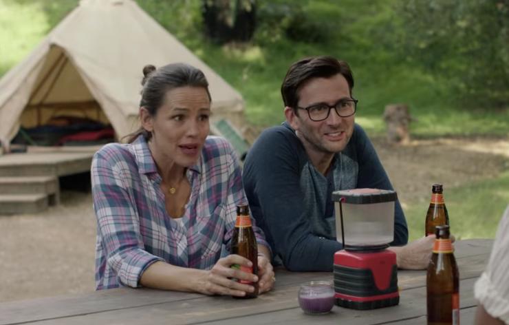 seriál Kempování Camping series