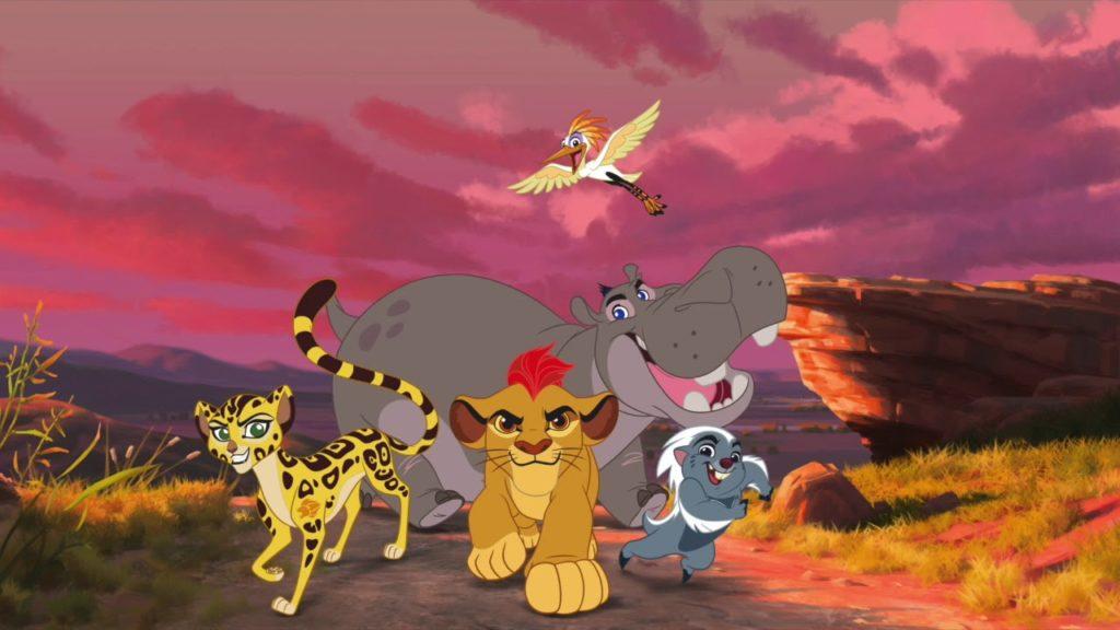 seriál Lví hlídka Lion Guard series