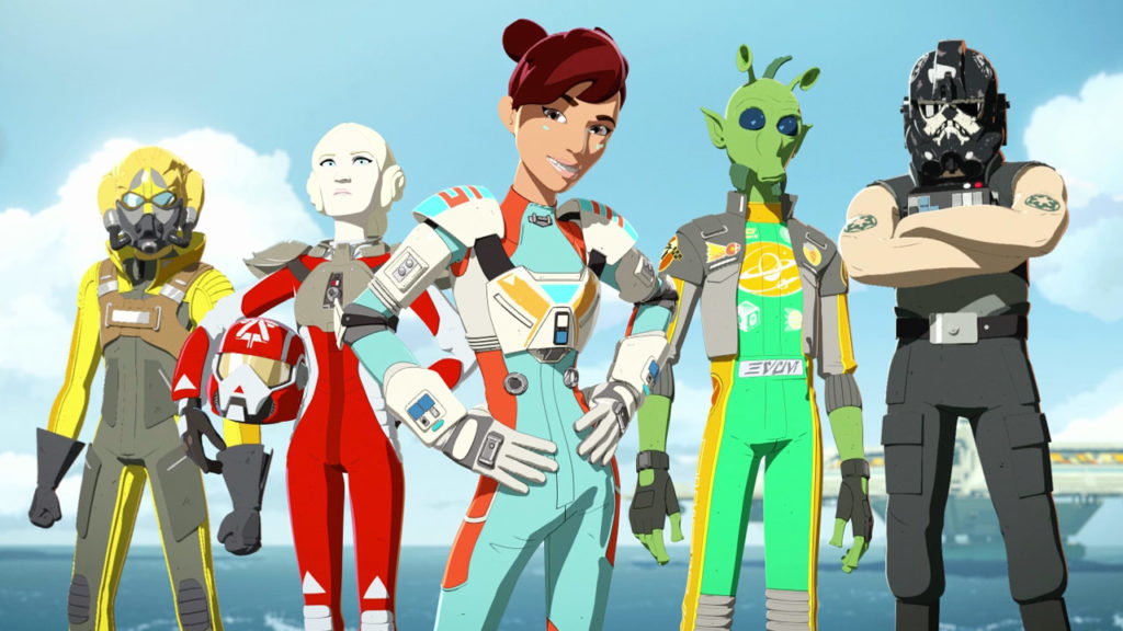 seriál Star Wars Resistance series