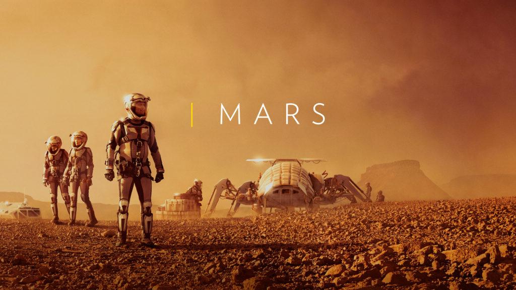 seriál Mars series