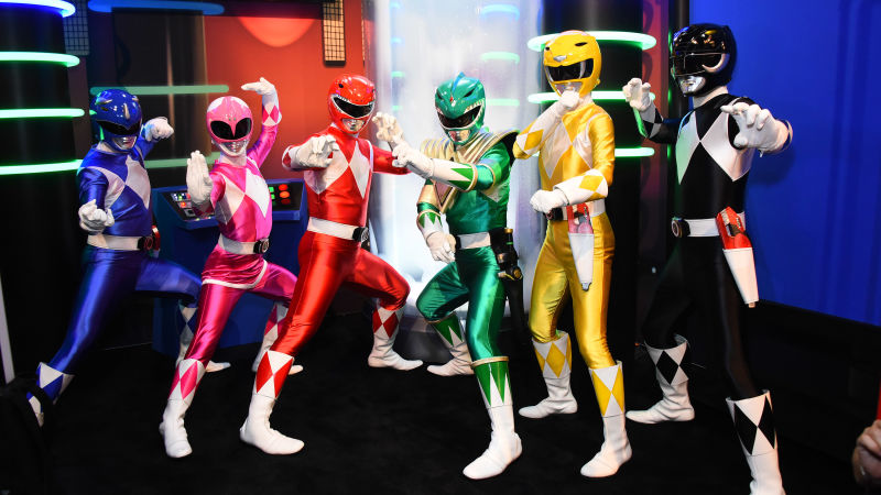 seriál Strážci vesmíru Power Rangers series