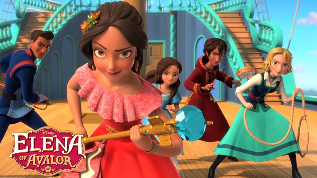 seriál Elena z Avaloru Elena of Avalor series