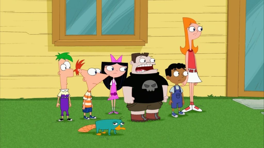 seriál Phineas a Ferb series