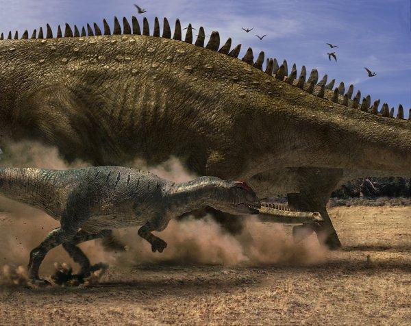 seriál Putování s dinosaury