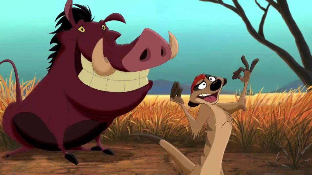 seriál Timon a Pumbaa series