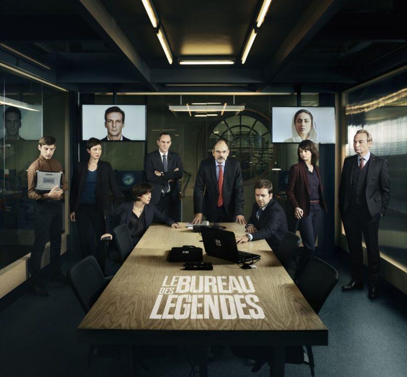seriál Le Bureau des Légendes series