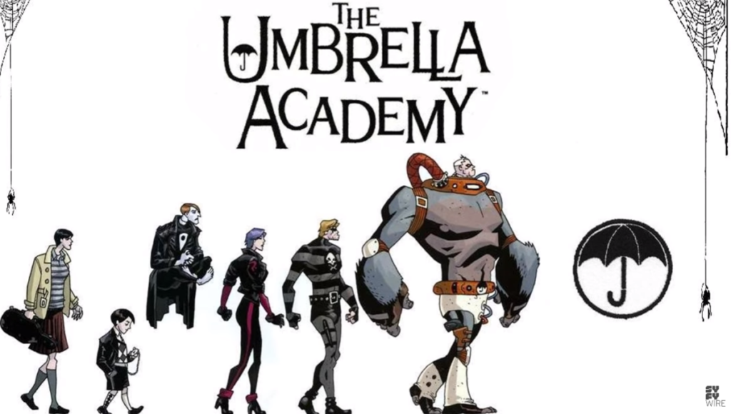 seiál The Umbrella Academy series