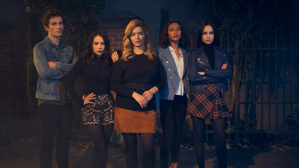 seriál Prolhané krásky Perfekcionistky Pretty Little Liars The Perfectionists series