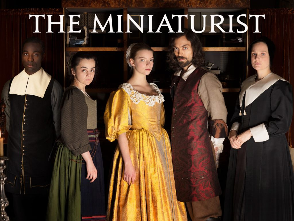 seriál Miniaturista The Miniaturist series