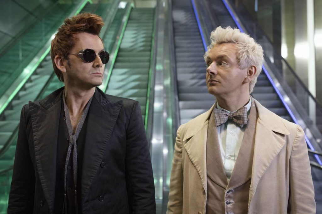 seriál Good Omens series