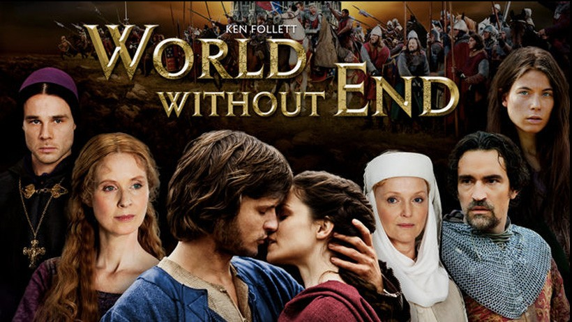 seriál Na věky věků World without end series