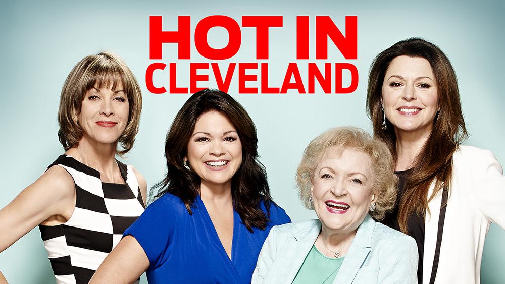 seriál Nouzové přistání Hot in Cleveland series
