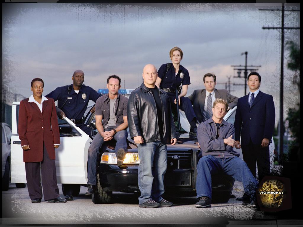 seriál Policejní odznak The Shield series