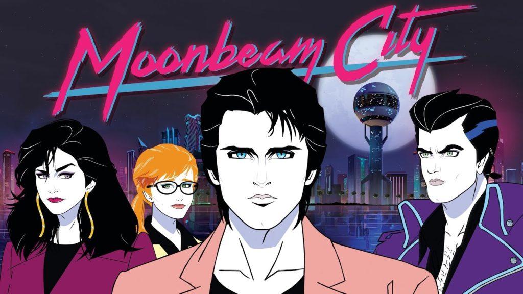seriál Moonbeam City series