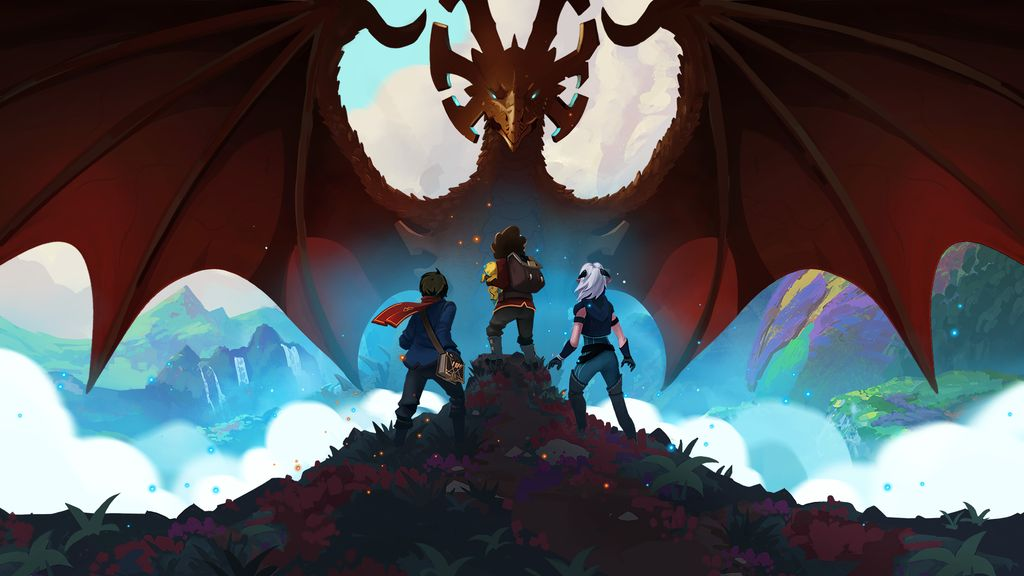 seriál The Dragon Prince series