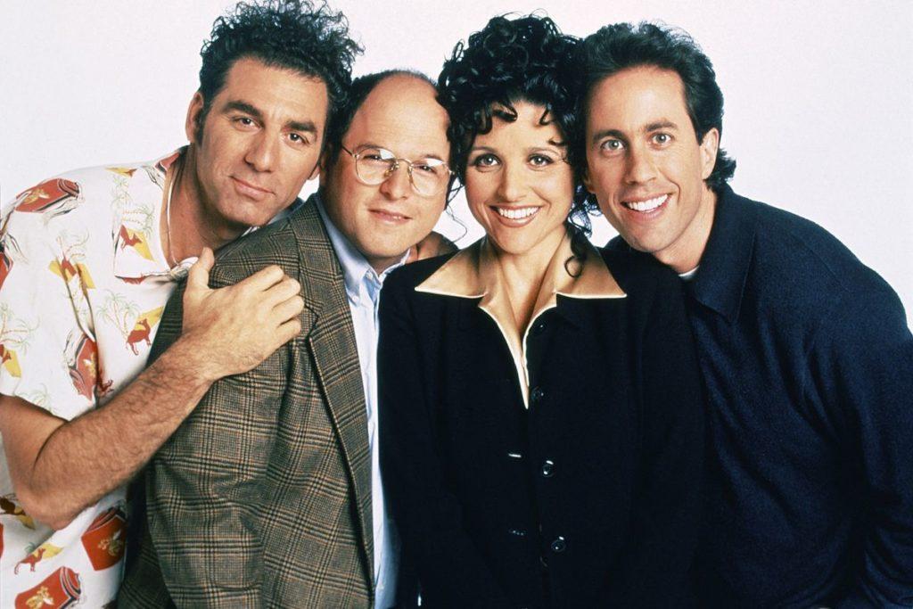 seriál Show Jerryho Seinfelda Seinfeld series