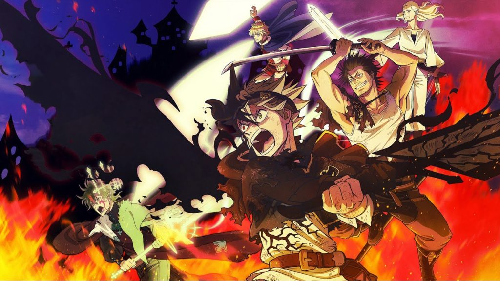 seriál Black Clover series