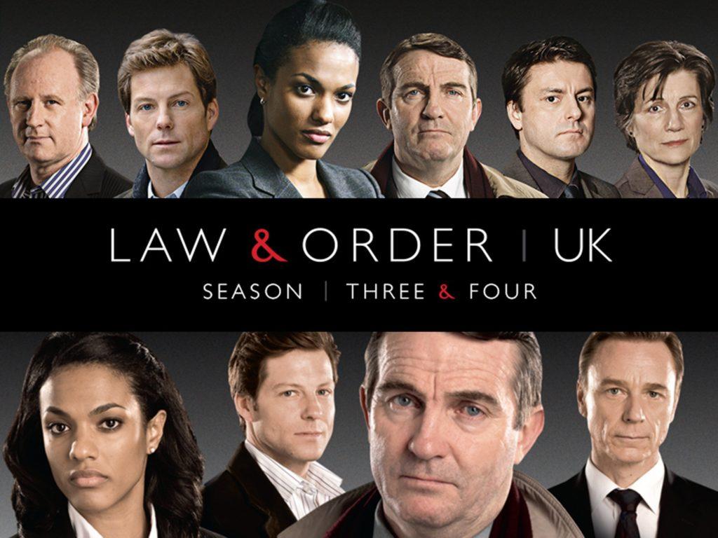 seriál Zákon a pořádek Spojené království Law & Order UK series