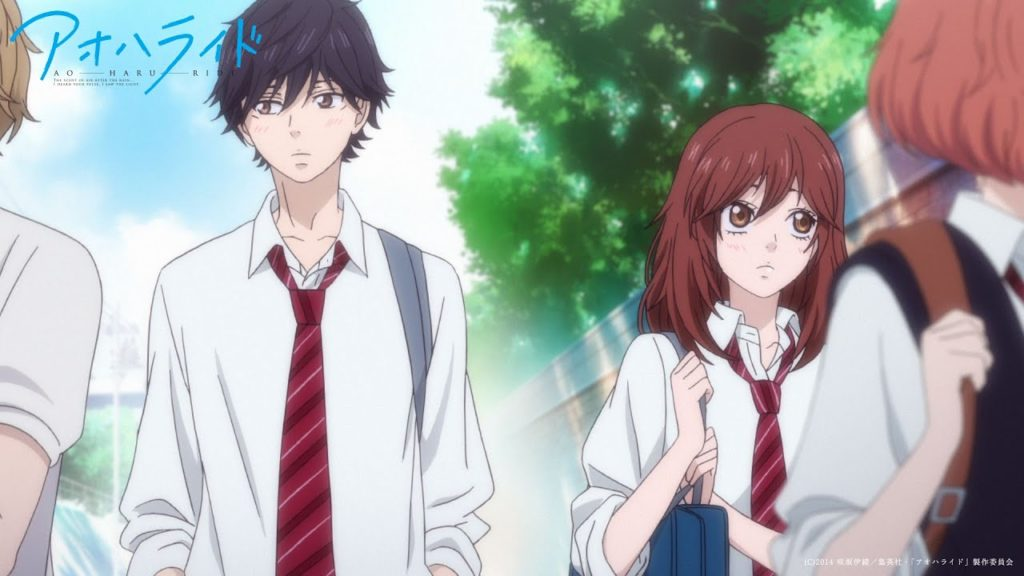 seriál Ao Haru Ride series