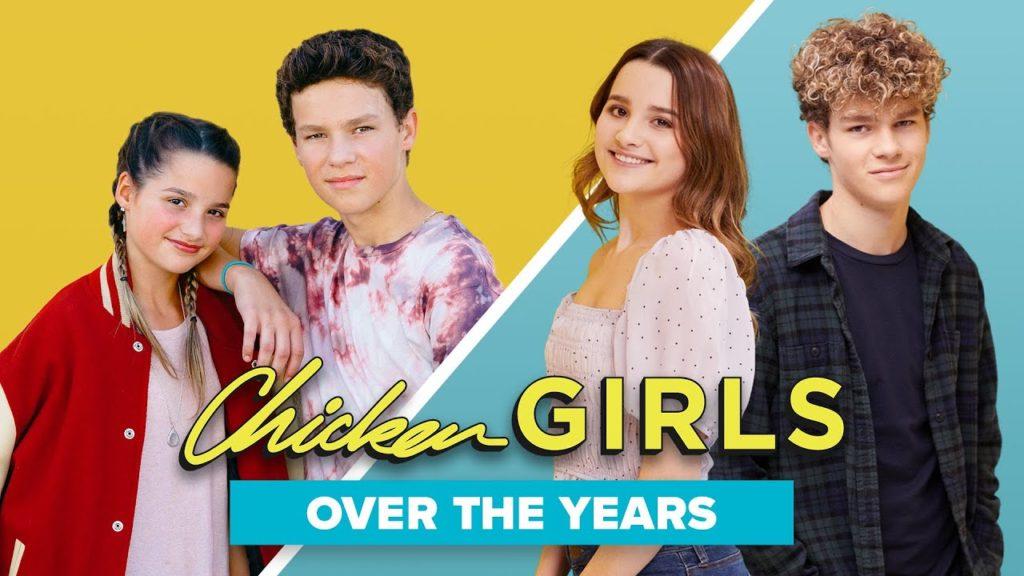 seriál Chicken Girls series