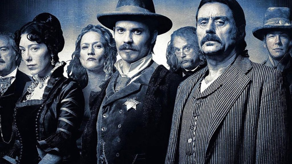 seriál Deadwood series