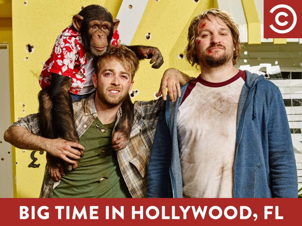seriál Falešný Hollywood / Big Time in Hollywood series