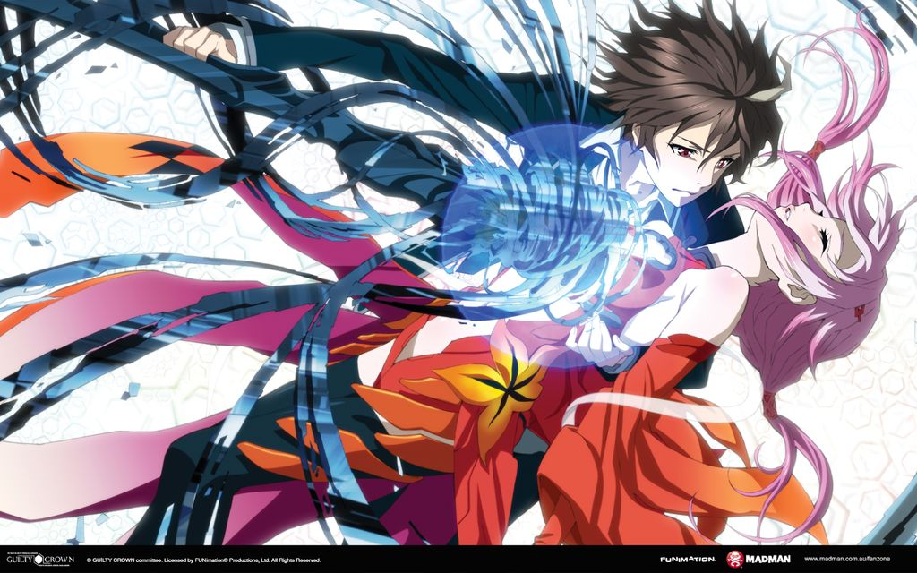 seriál Guilty Crown series