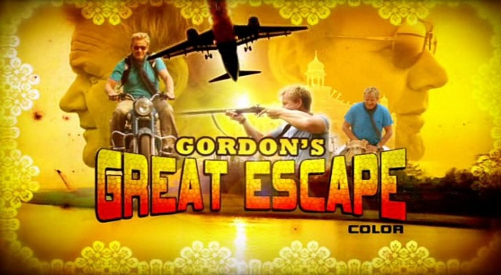 seriál I Gordon Ramsay se nechá poučit Gordon's Great Escape series