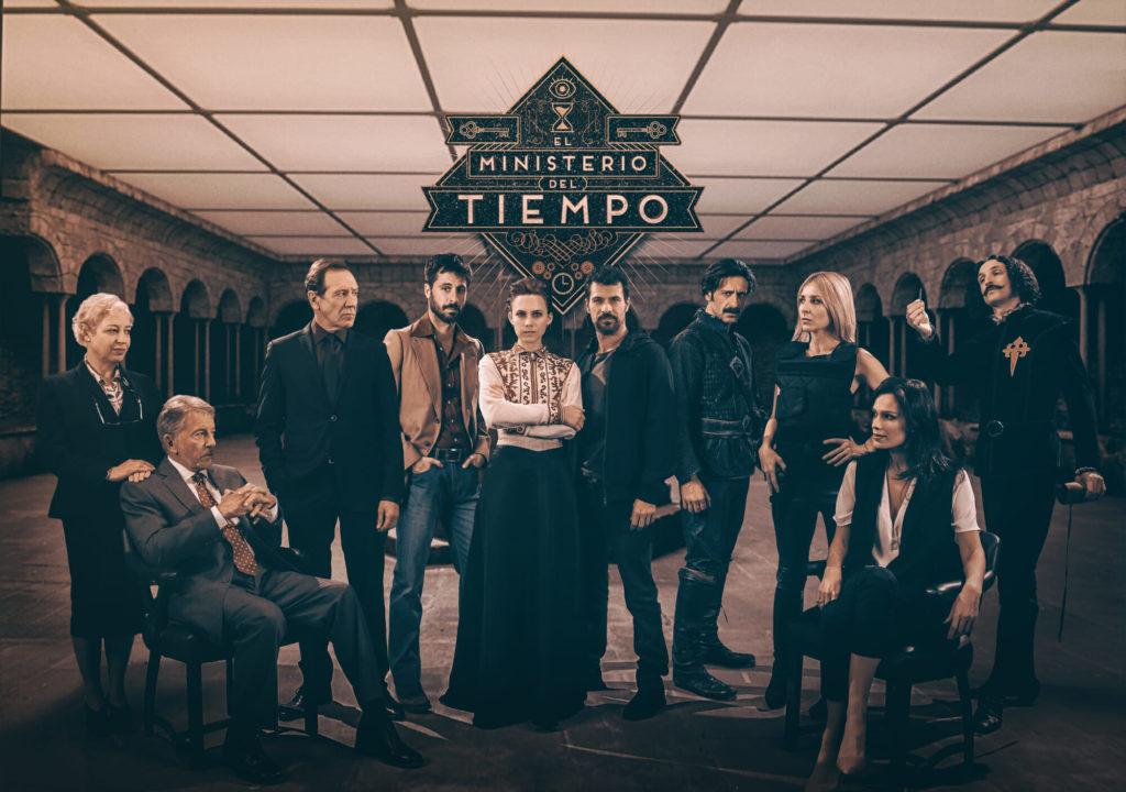 seriál Ministerstvo času El Ministerio del Tiempo series