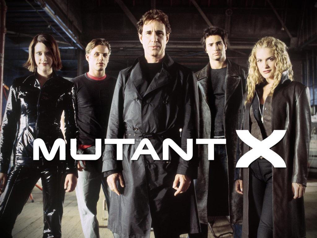 seriál Mutant X series