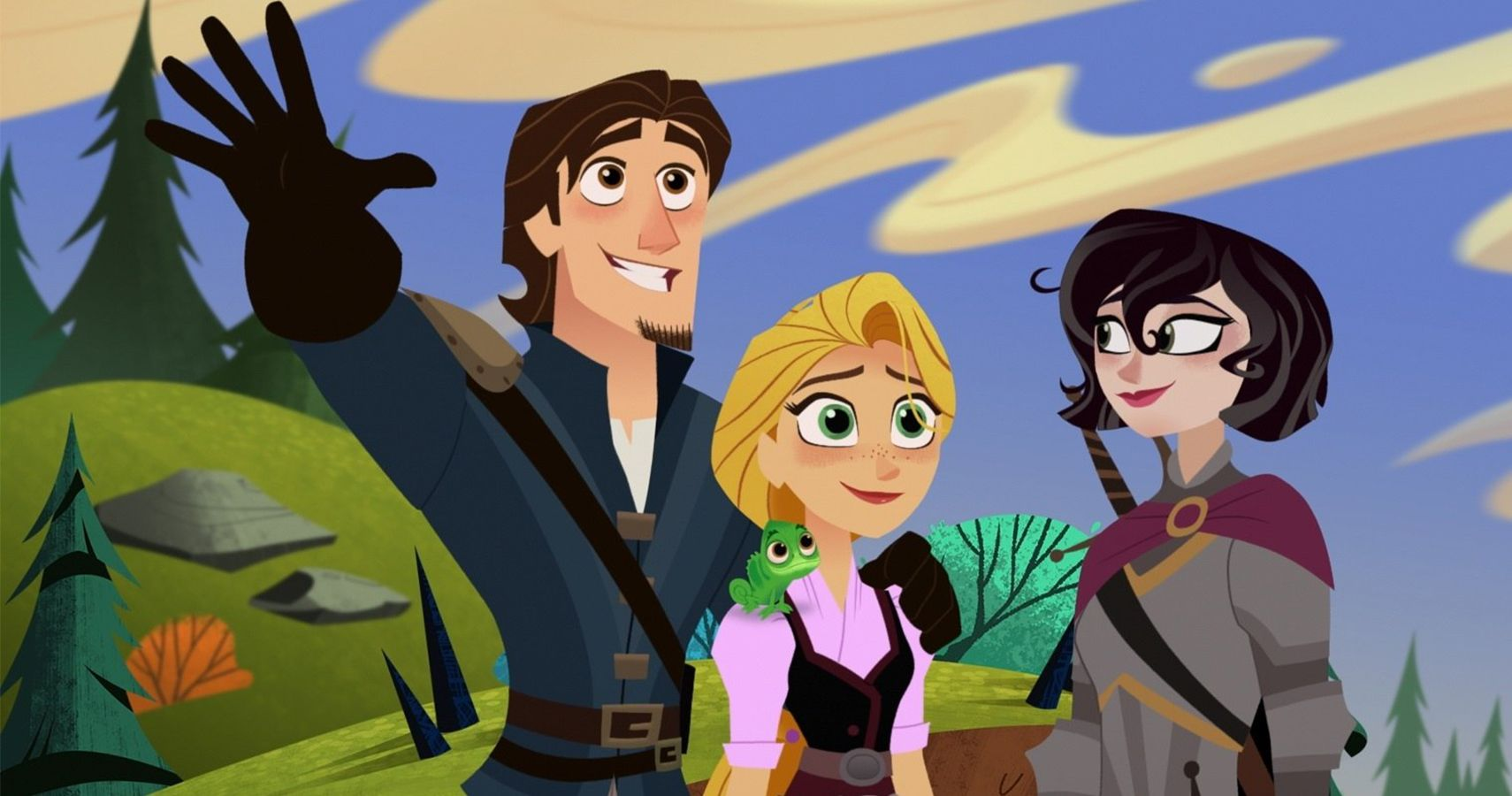 seriál Na vlásku Seriál Tangled The Series series