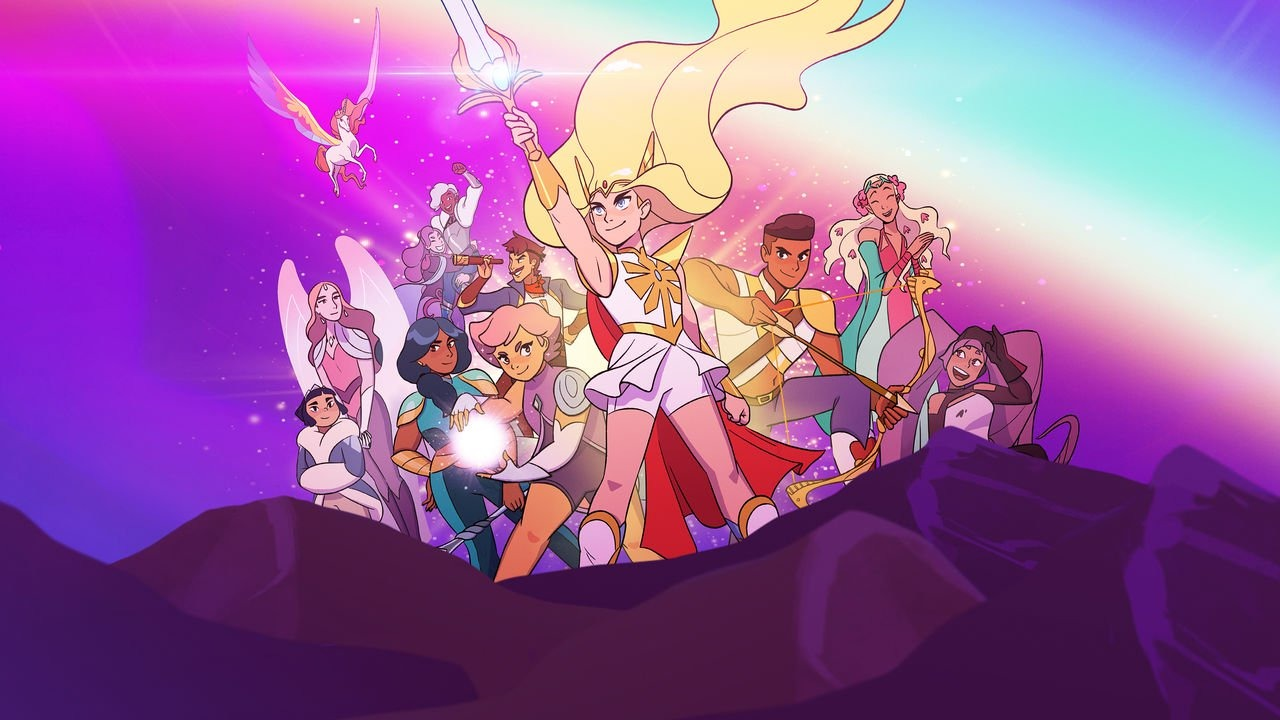 seriál She-Ra a princezny moci She-Ra and the Princesses of Power series