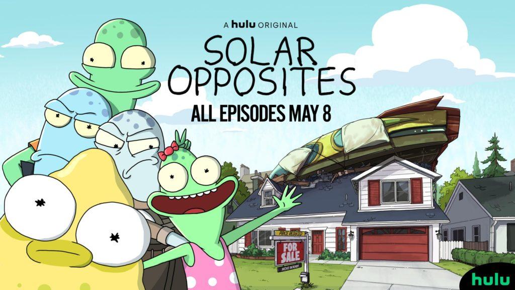 seriál Solar Opposites series