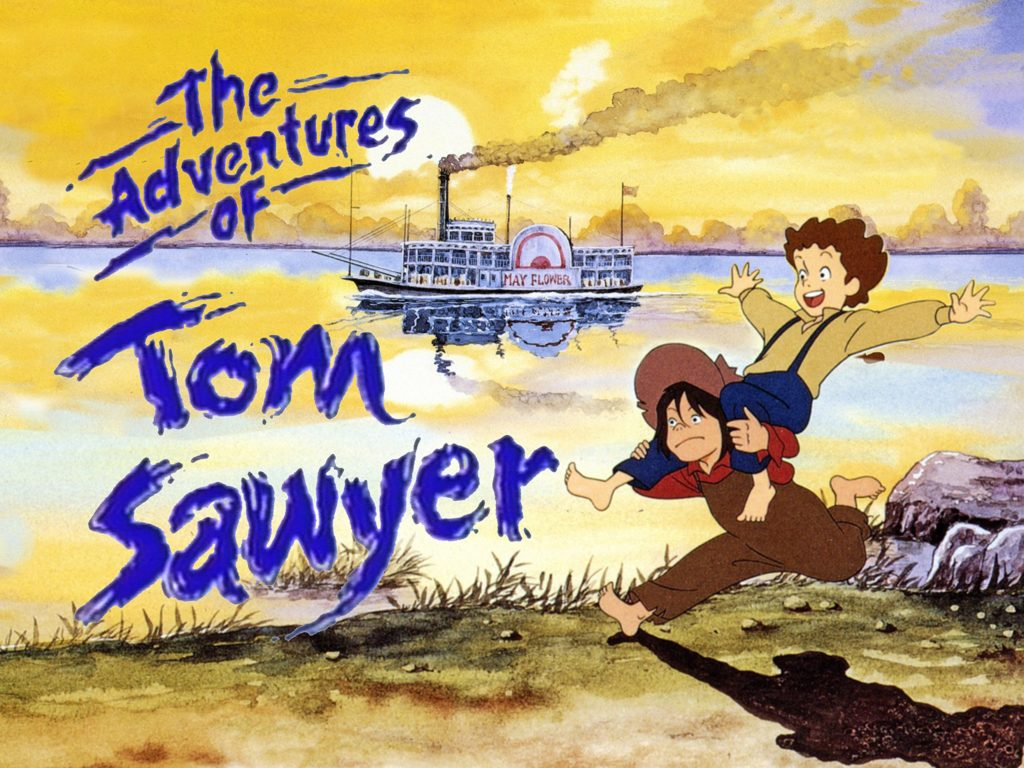 seriál The Adventures of Tom Sawyer series