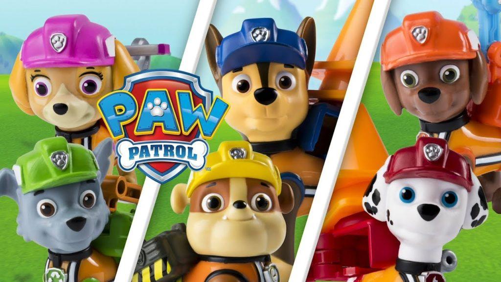 seriál Tlapkova patrola Paw patrol series